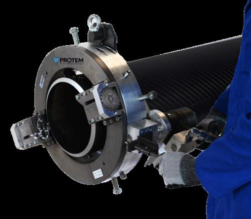 TTNG-HD323 - Coupe orbitale et chanfreinage de tubes de 8